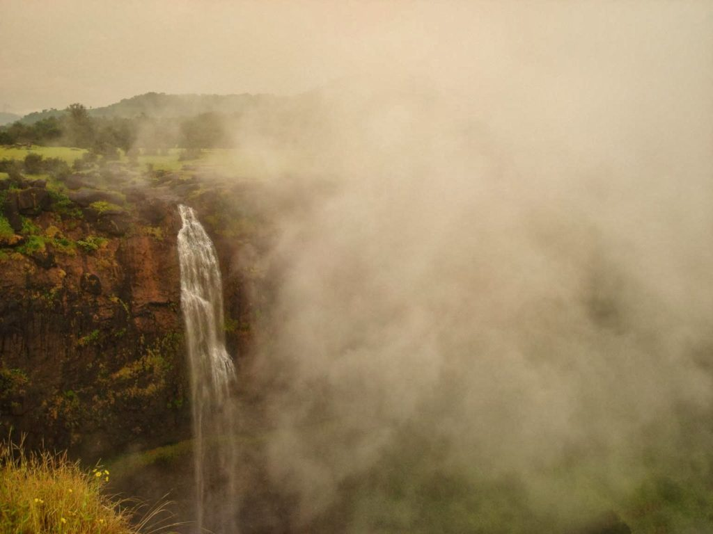 Madhe ghat Waterfall from Sunset Point