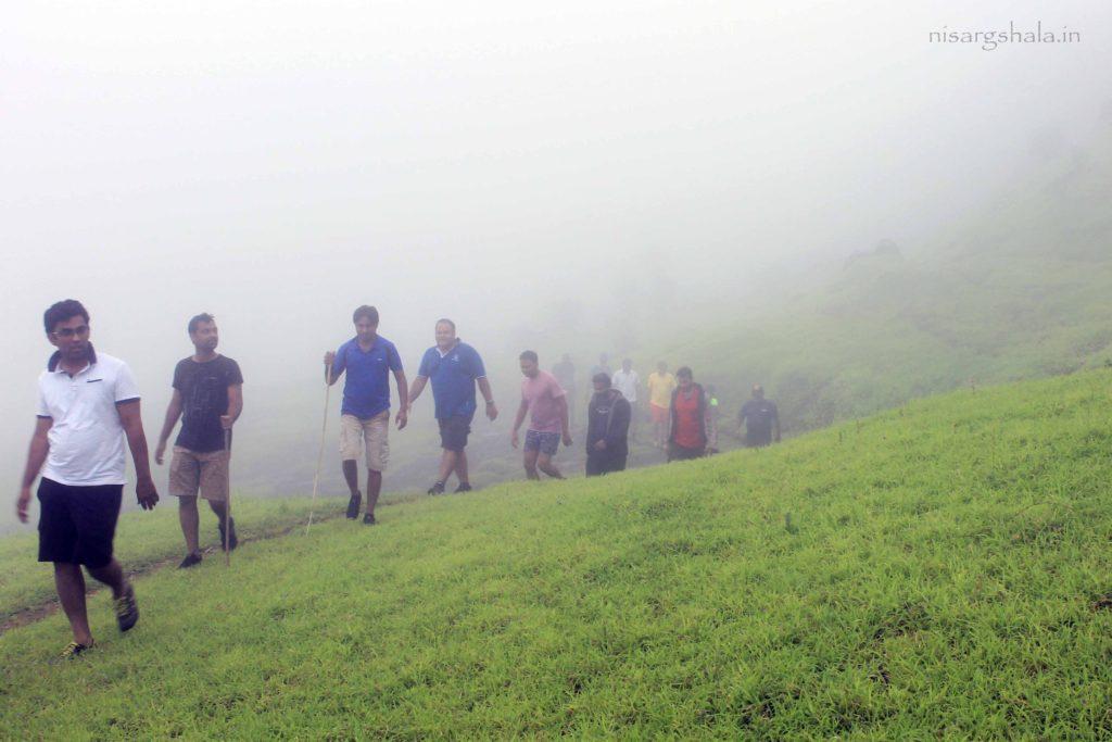 A walk through clouds