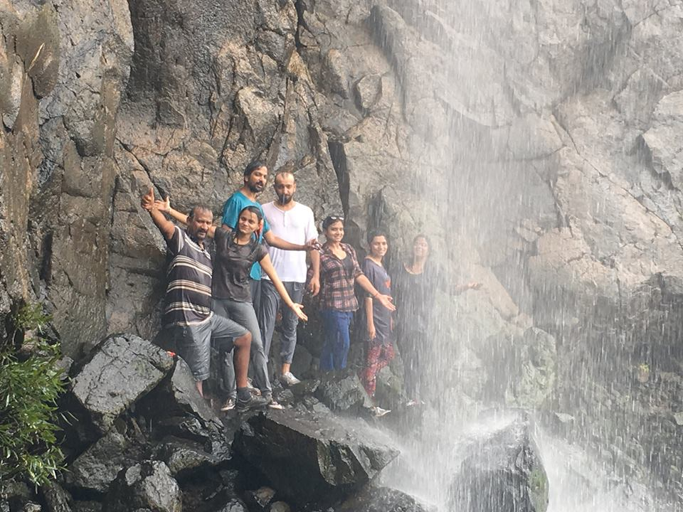 Waterfall Rappelling near Pune Madhe Ghat