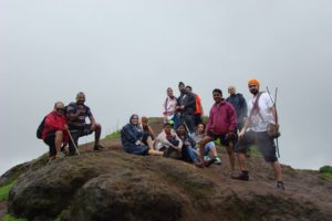 Monsoon Waterfall rappelling Torna Fort near Pune