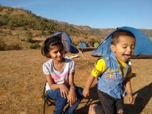 Kids love outdoors