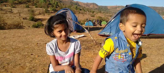 Weekday Overnight camping near Pune