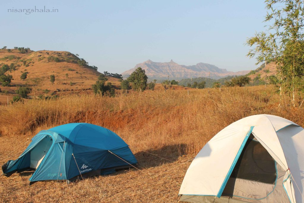Stay in Tents while camping near Pune @ Nisargshala