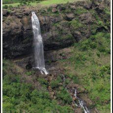 Astonishing Waterfall near Nisargshala Campsite