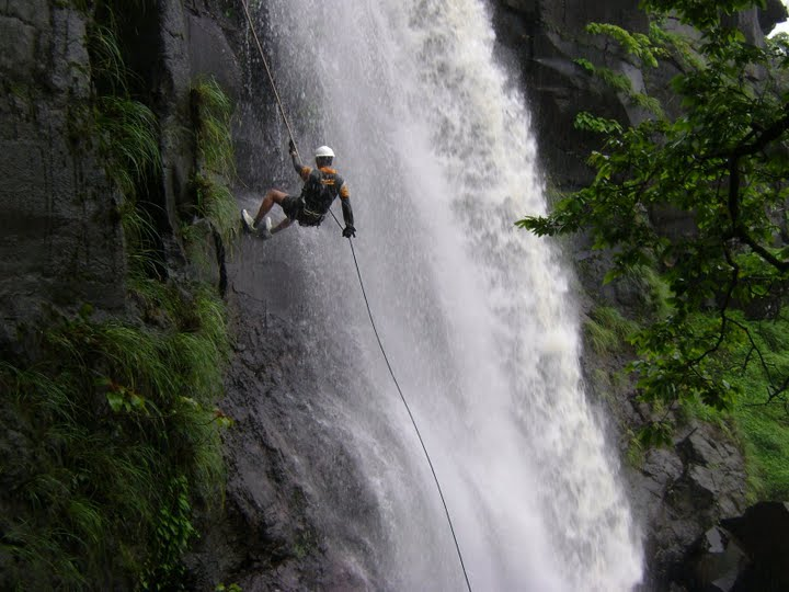 Rappelling @ Madhe ghat