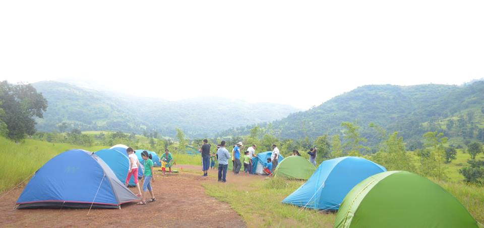 Monsoon Camping near Pune