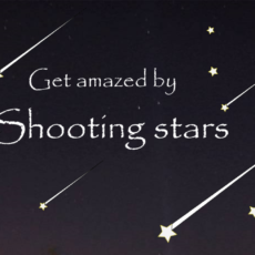 shootings stars means firework from heaven