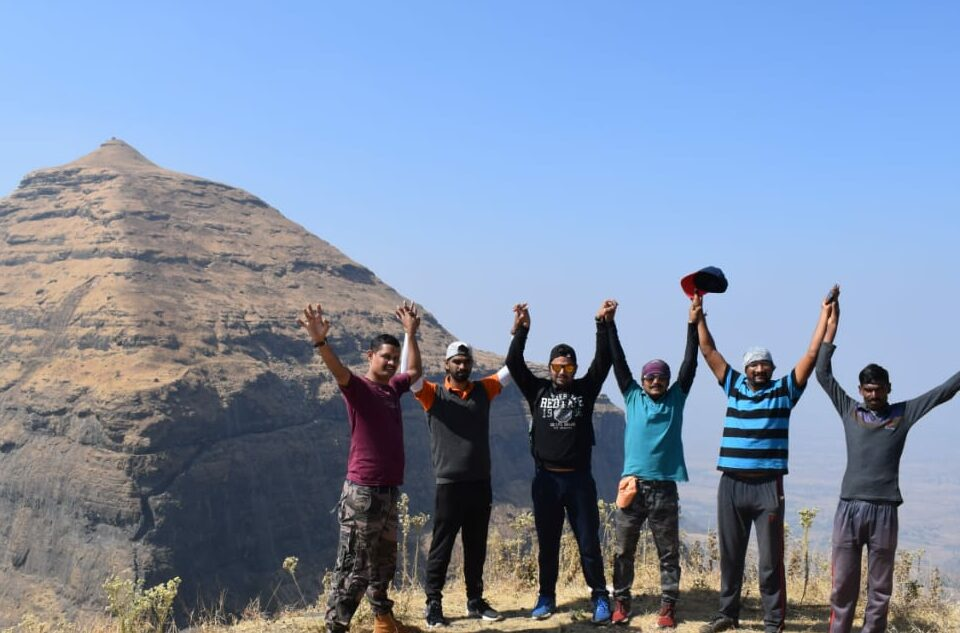 Salher fort TRek from Pune