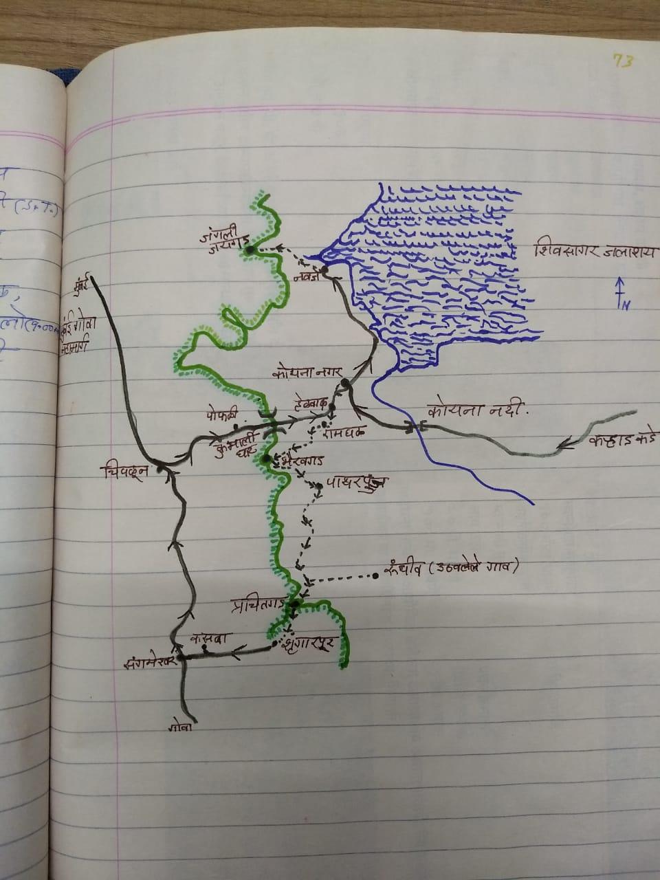 जंगली जयगड, भैरवगड, प्रचितगड व रामघळ – डिसेंबर १९९९ चा जंबो ट्रेक